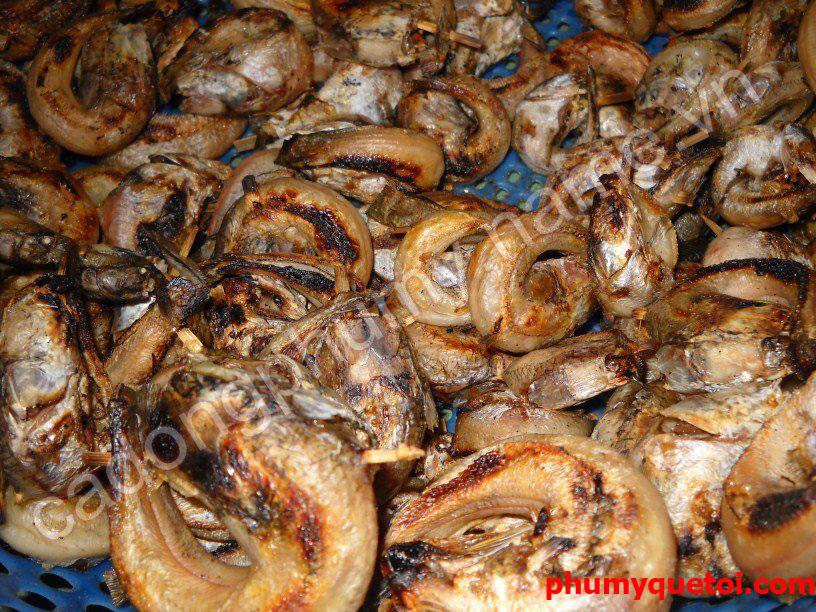 Cá lóc nướng kho Phù Mỹ